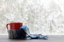Winter Warming Drinks/ Red Mug...