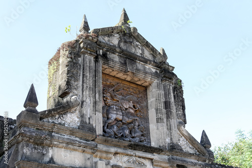 Fort Santiago in Intramuros district of Metro Manila, Philippines