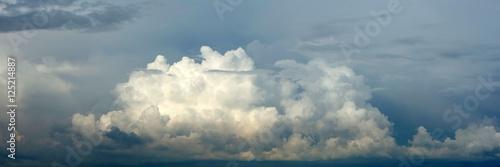 Aluminium Prints Heaven Panorama von Quellwolken