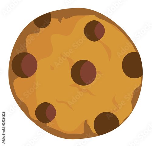 Photo  Vector Chocolate Chip Cookie