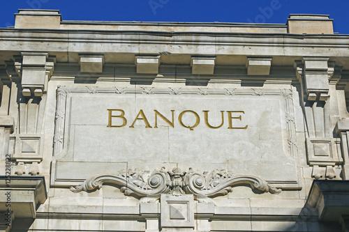 Fotografía  Banque