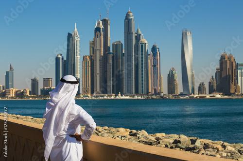Fototapeta Dubai Marina. ZEA