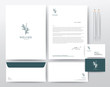 Corporate Identity Template, Modern Vector illustration