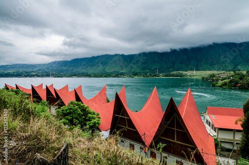Foto op Plexiglas Indonesië Lake Toba