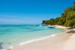 Dream white beach on Mauritius