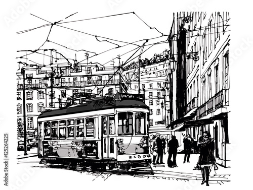 Recess Fitting Art Studio Tramway in lisbon