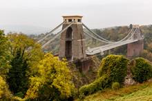 Clifton Bridge In Autumn, Bristol