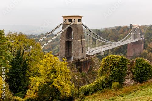 Fotografie, Tablou  Clifton bridge in autumn, Bristol