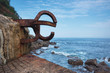 Peine del viento Sculpture in San Sebastian, Spain