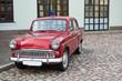 Советский ретро автомобиль пожарной службы
