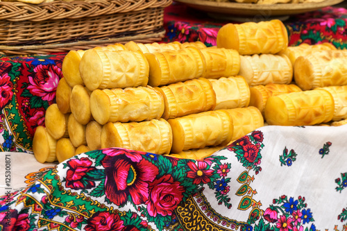 Oscypek, Oszczypek is a smoked cheese made of salted sheep milk exclusively in the Tatra Mountains region of Poland