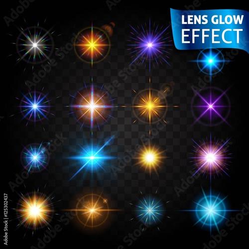 Fotografie, Obraz  Lens glow effect
