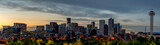 Denver skylline in the early morning