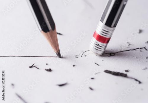 Valokuvatapetti Write and erase