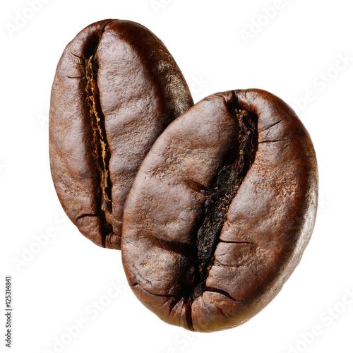 Obraz na płótnie Macro coffee bean