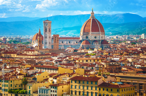 Cityscape in Florence, Italy