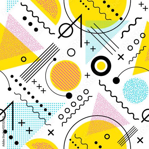 bezszwowe-inspirowane-latami-1980-graficzny-wzor-linii-i-geometrycznych-ksztaltow