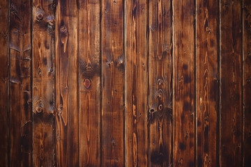 FototapetaWooden texture background, table or boards top view