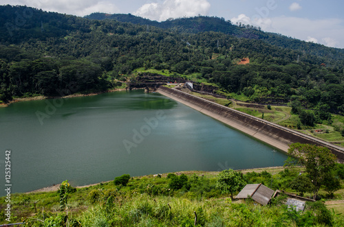 Poster Channel Kotmale Dam, Kotmale Hydropower Project - Sri Lanka