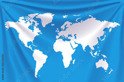 Cadres-photo bureau Carte du monde background world map