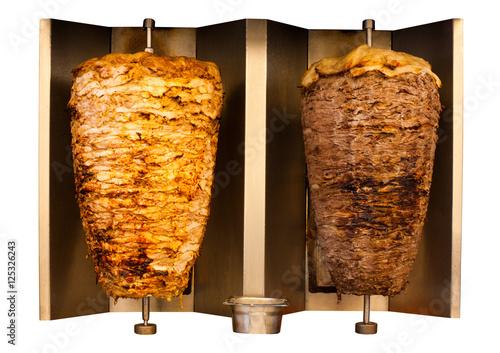 Grill Chicken Lamb Mutton Shawerma Meat Machine
