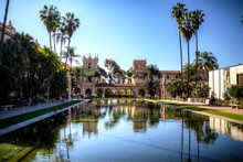 Balboa Park San Diego With Cle...