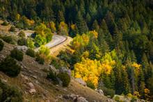 Route 16 Wyoming Near Thermopolis