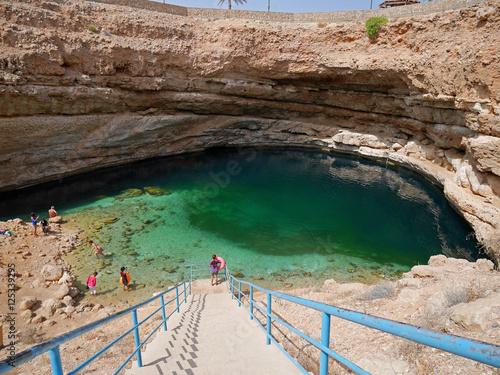 Cuadros en Lienzo Bimmah sinkhole, Oman