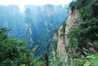 Zhangjiajie. Huangshi Stockaded Village Scenic Spot. Located in Wulingyuan Scenic and Historic Interest Area which was designated a UNESCO World Heritage Site as well as an scenic area in china.