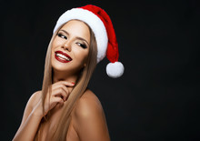 Beautiful Woman Portrait With ...