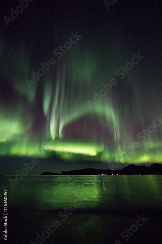 Aurora explosion outside Tromso Poster