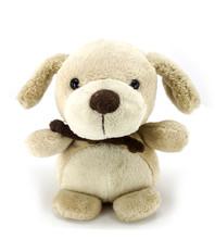 Dog Plush Toy Isolated On White