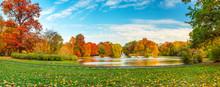 Beautiful Fall Landscape And C...