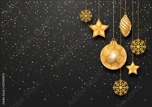 Festive Christmas Background Wallpaper Mural
