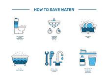 Simbol Saving Water