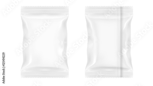 Cuadros en Lienzo White Blank Foil Food Packing