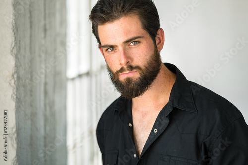 Handsome man dark tall TALL, HANDSOME,