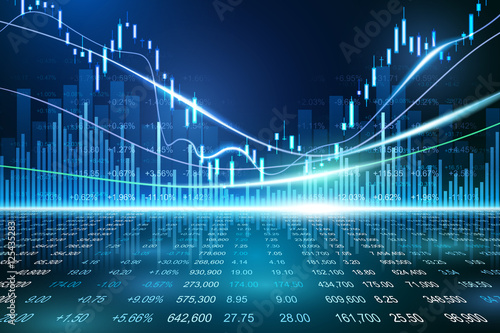 Fotografía  Stock exchange concept
