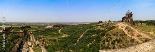 Valokuvatapetti Panorama of Rohtas fortress in Punjab, Pakistan