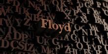 Floyd - Wooden 3D Rendered Let...