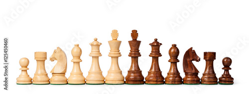 Cuadros en Lienzo chess pieces