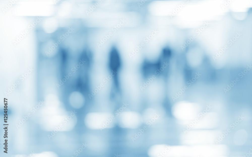Fototapety, obrazy: medical blue blurred background