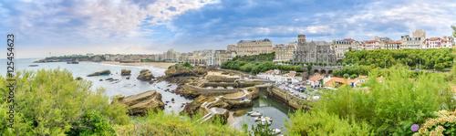 Panoramic view at the Biarritz - France Wallpaper Mural