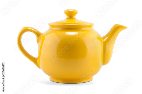 Cuadros en Lienzo teapot isolated