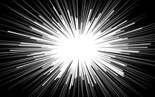 Popular White Ray Star Burst B...