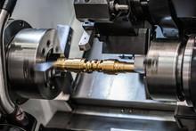 Metalworking CNC Milling Lathe Machine.