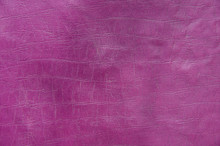 Pink Paint Leather Background Or Texture