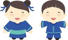 Cute Little China Couple: Boy ...