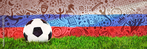 Photographie  Football, Soccer, Russia, 2018