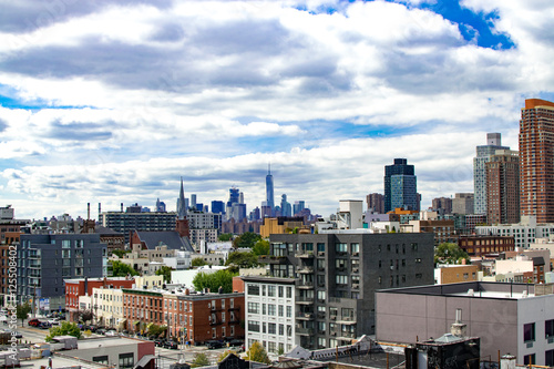 Foto View of North Queens with Lower Manhattan in the Background
